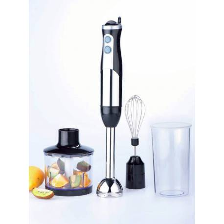 Wellkom 800W 3 in 1 Plunger and Mixer