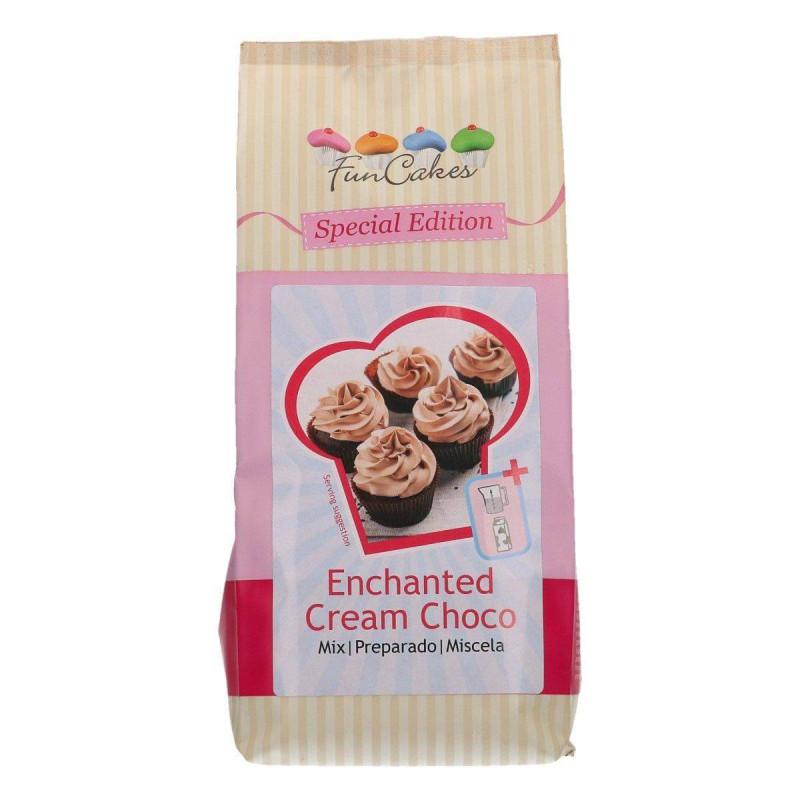 Preparación para la crema encantada Chocolate 450 g