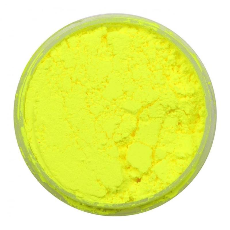 Colorant en poudre fluorescent jaune néon Rolkem 5,7g