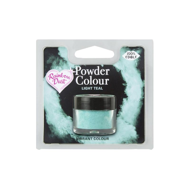 Colorant en poudre Light Teal Rainbow Dust
