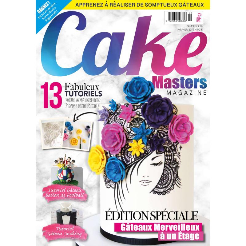 Magazine CAKE MASTERS Janvier 2019
