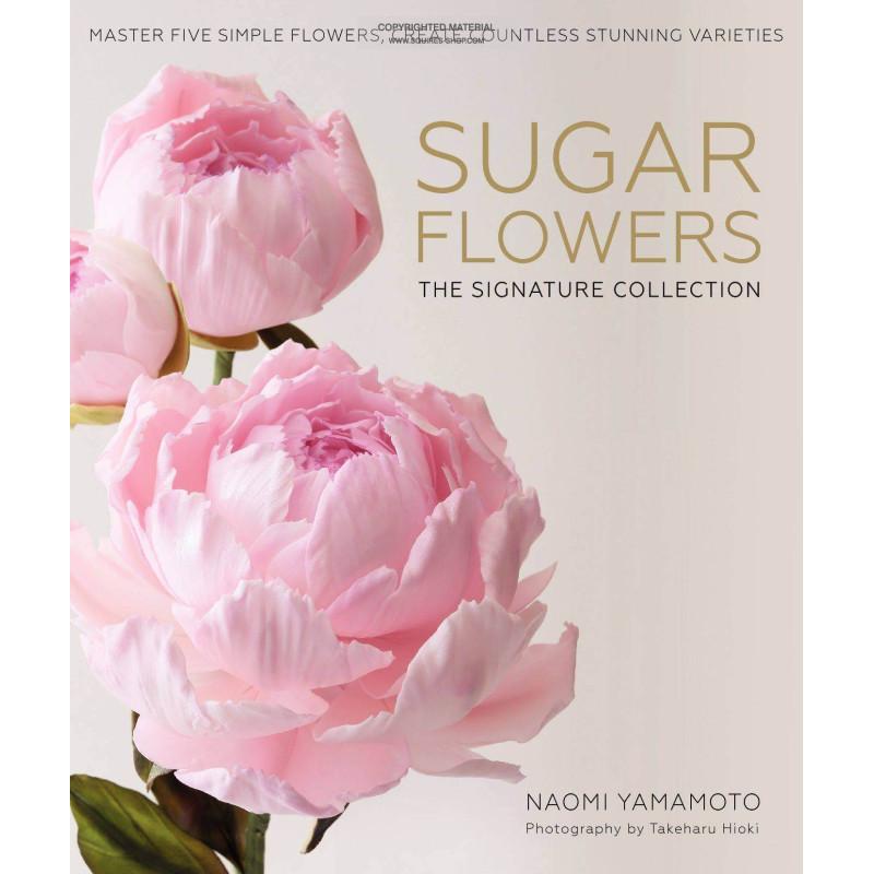 Livre SUGAR FLOWERS de Naomi Yamamoto