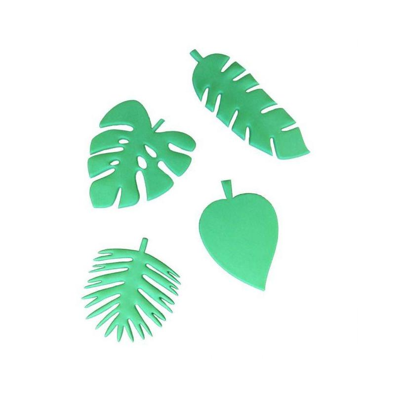 Emporte pièces Feuilles Tropicales FMM - 4 formes