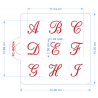 Set de 3 Plantillas Cartas Canciller