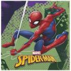 20 Spiderman 33 cm napkins