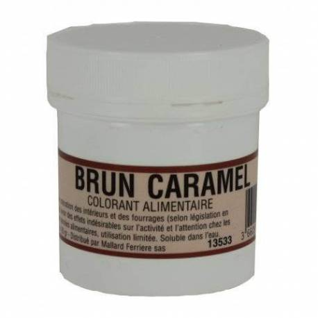 INTENSIVE Caramel Brown 20G Food Colouring Powder