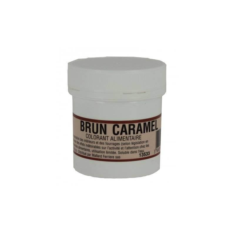 INTENSIVE Caramel Brown 20G Edible Colouring Powder