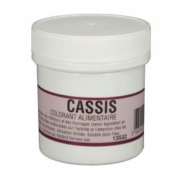 INTENSE CASSIS 20 G powdered food coloring