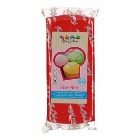 Fondant Funcakes Rojo 1 KG