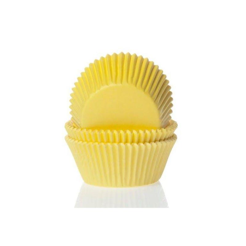 60 mini YELLOW Cupcake Boxes