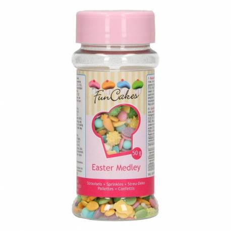 Sprinkles popurrí de Pascua Funcakes 50g