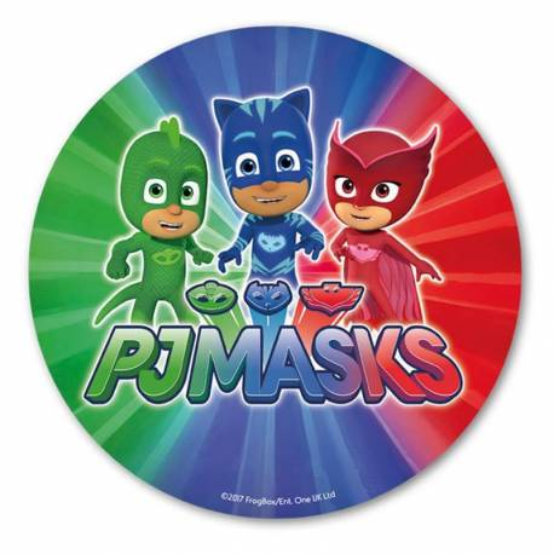 Sugar disc Pajamasques 20 cm