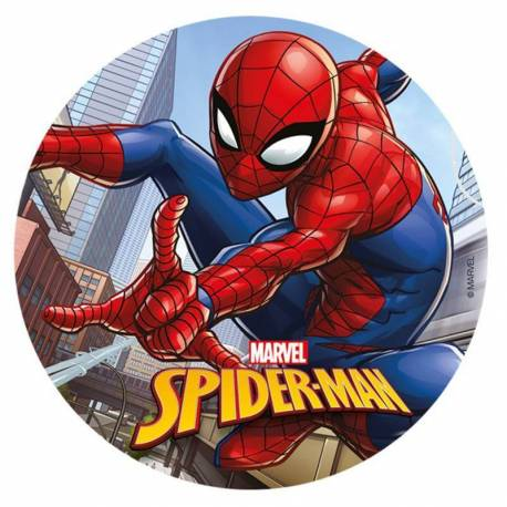 Spiderman edible wafer disc 20 cm