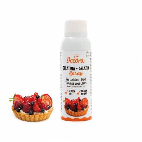 Gelatin edible spray 125 ml
