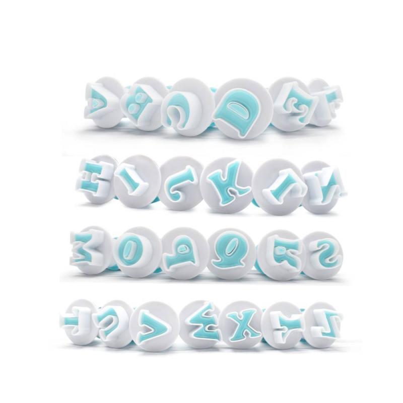 Emporte-pièces à Piston Alphabet