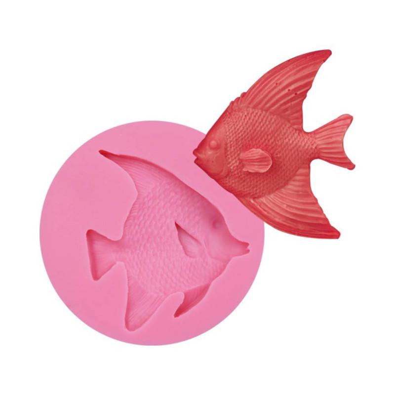 Molde de silicona FISH
