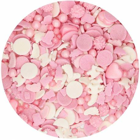 Mix Sprinkles Bébé Fille 50 G