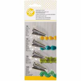 Set de 4 Douilles Bordures Wilton