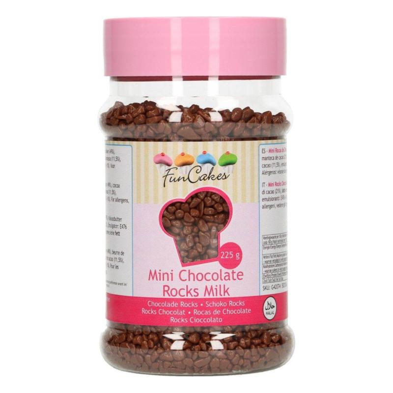 Mini Funcakes 225G Chocolate Rocks