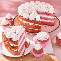 Préparation pour Gâteau RUBY Funcakes 400 G