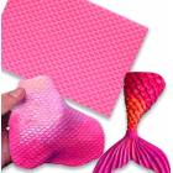 Alfombra de silicona Escamas de pescado