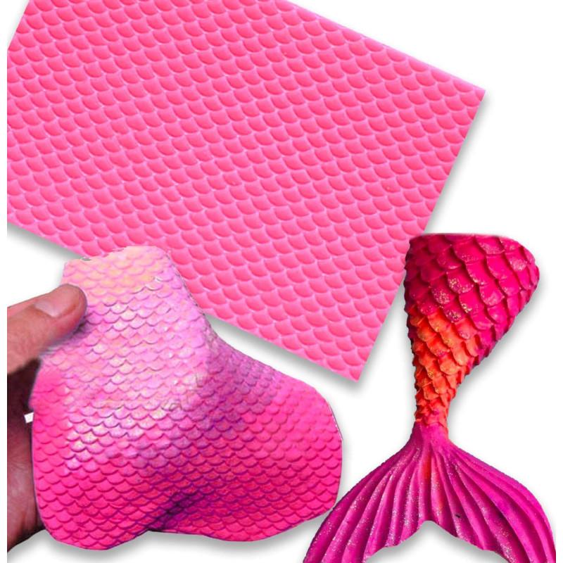 Silicone carpet Fish scales
