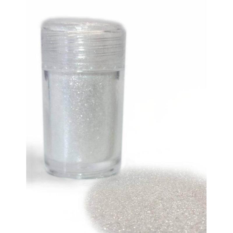 Edible flakes Metallized WHITE 20 g