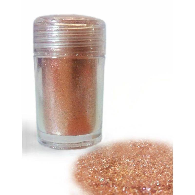 Colorant en poudre pailletée Métallisée OR ROSE 10ml