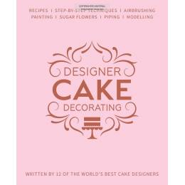 Livre DESIGNER CAKE DECORATING