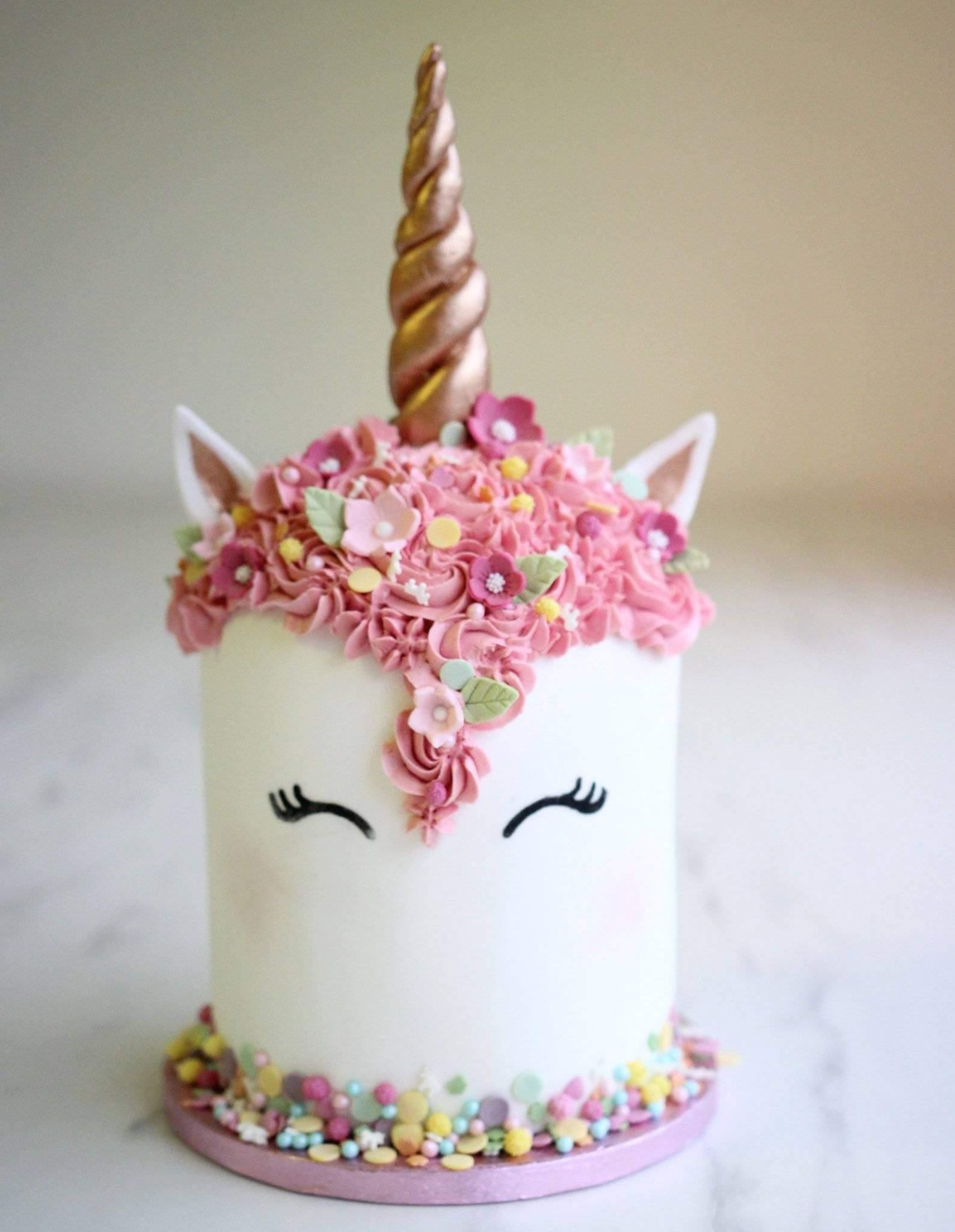 Edible Printing Large Unicorn Eyes Planete Gateau Cake
