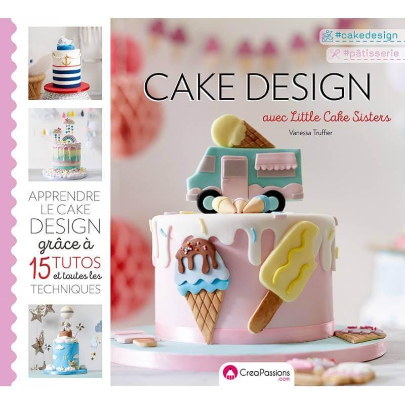 Libro de diseño de pasteles con Little Cake Sister