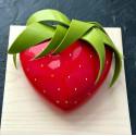 Molde de cocción de silicona 3D para corazones SILIKOMART B20cm