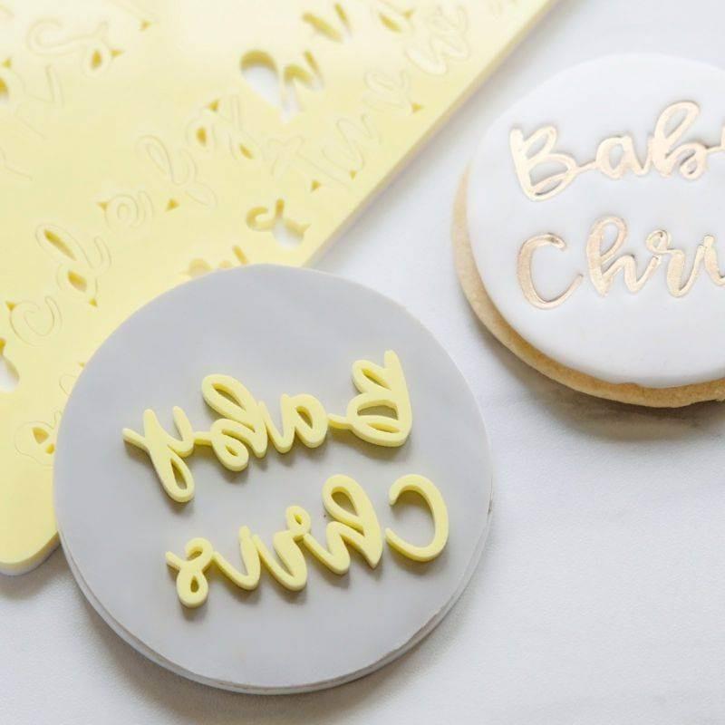 Placa adherente para Impresión de galletas Sweet Stamp