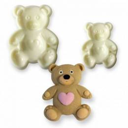 Set of 2 carries parts bear plush