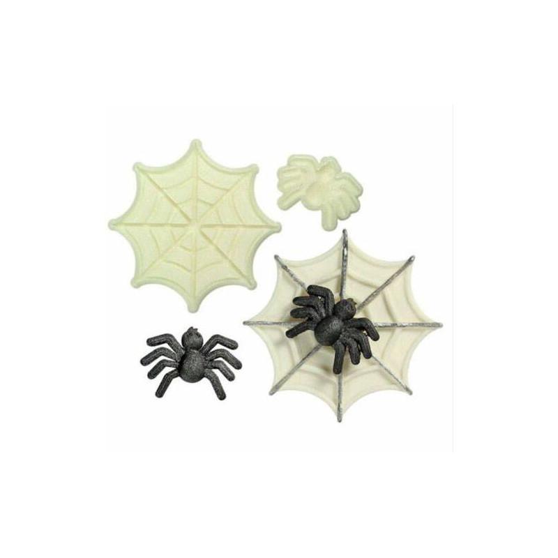 Set de 2 cortadoras de piezas Spider 3D y su lienzo JEM