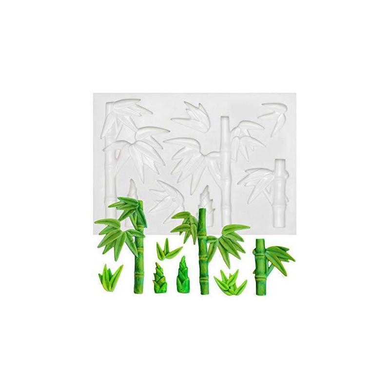 Molde de silicona de bambú