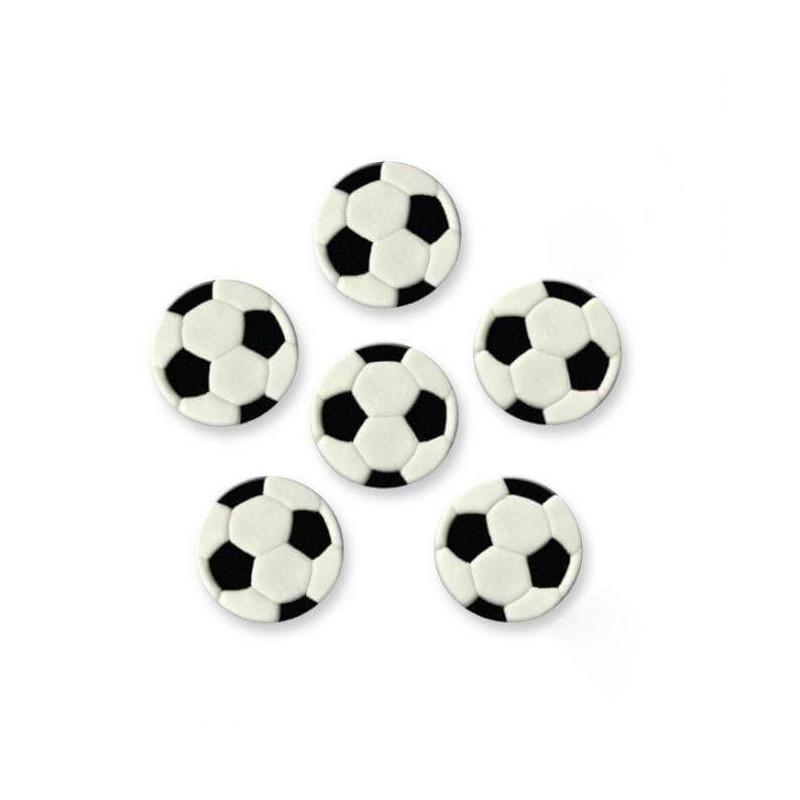 6 Ballons de Football en sucre