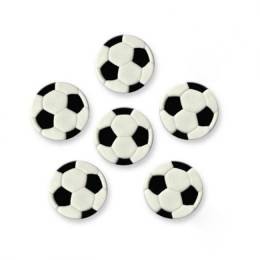 6 soccer balls in sugar
