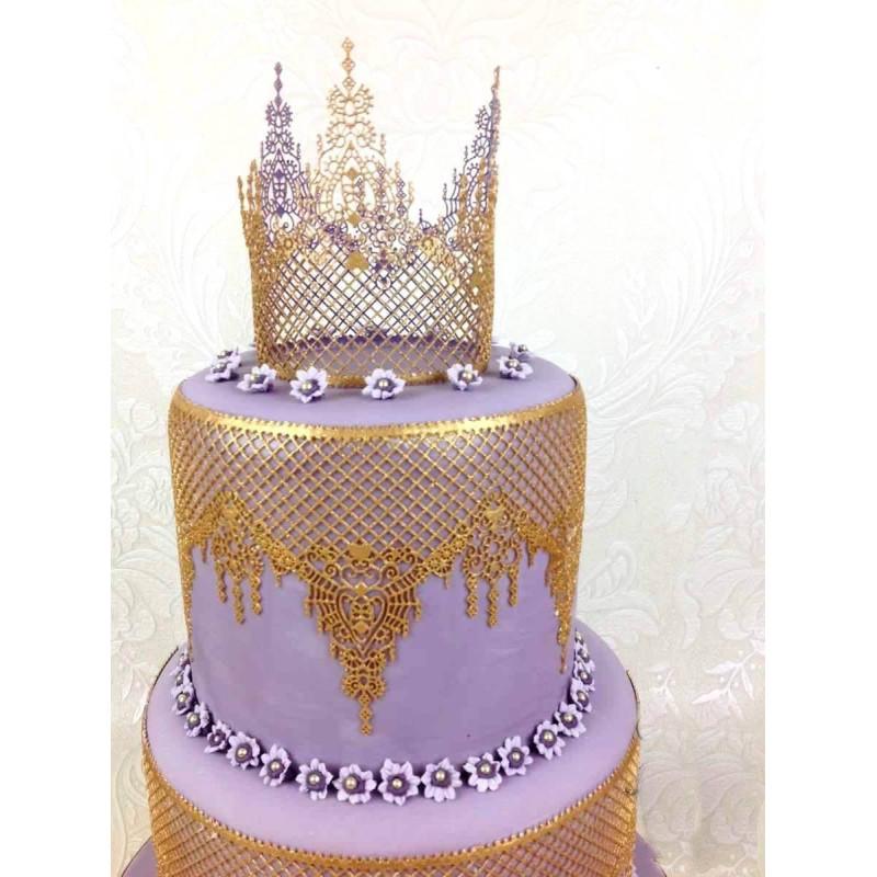 Tapis dentelle Cake Lace OPHELIA - Claire Bowman
