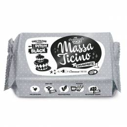 Sugar paste Massa Ticino 250g - black
