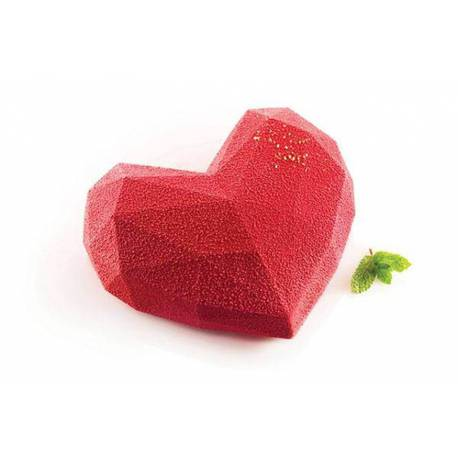 Origami Silikomart Heart Cake Mould
