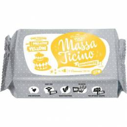 Sugar paste Massa Ticino 250g - yellow