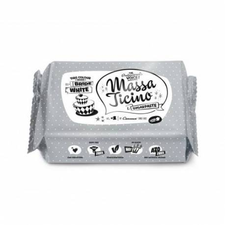 Massa Ticino sugar paste 1 kg - WHITE