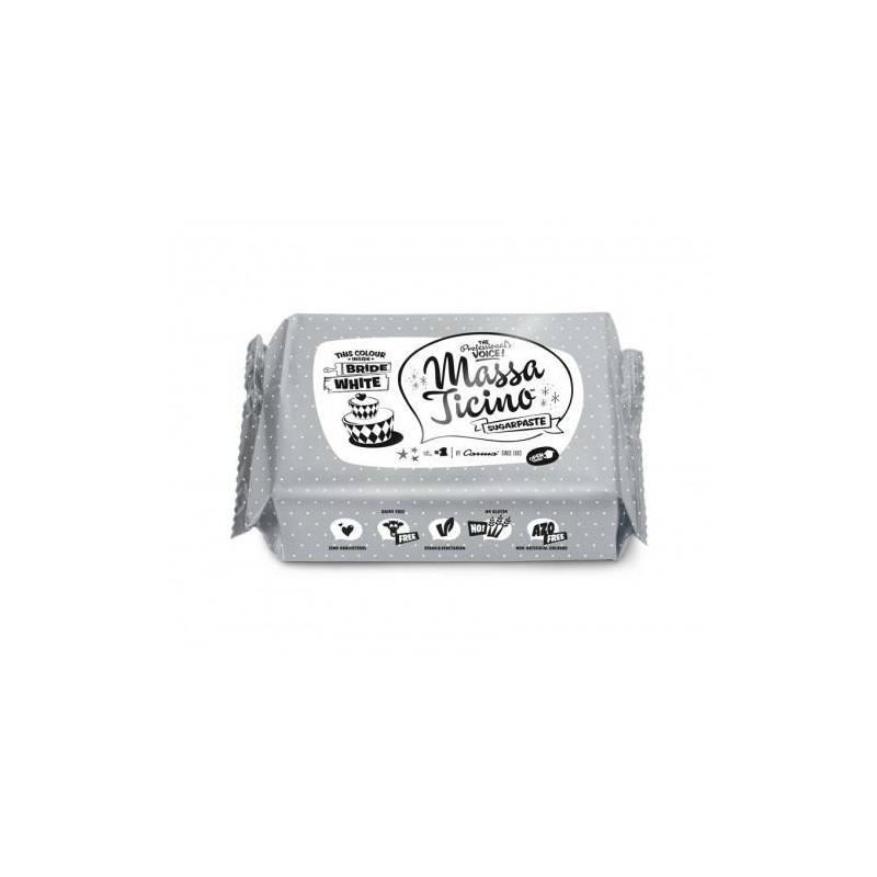 Pâte à sucre Massa Ticino 1 kg - BLANC