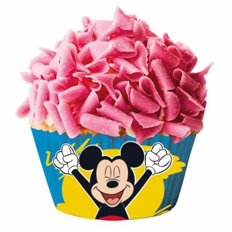 Caissettes à Cupcakes Mickey (x50)