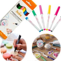 Kit de 5 Feutres Alimentaires