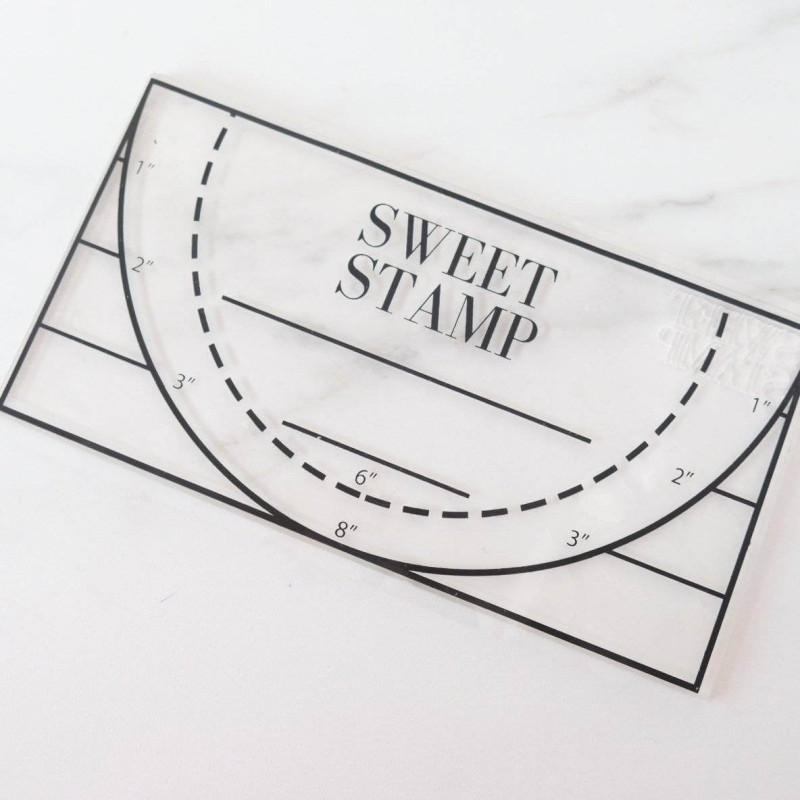 Placa adherente para Impresión Sweet Stamp