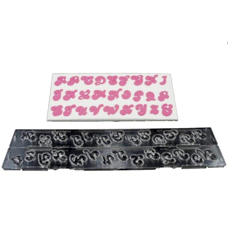 Découpoir Alphabet Clikstix Lettres Majuscules Candy
