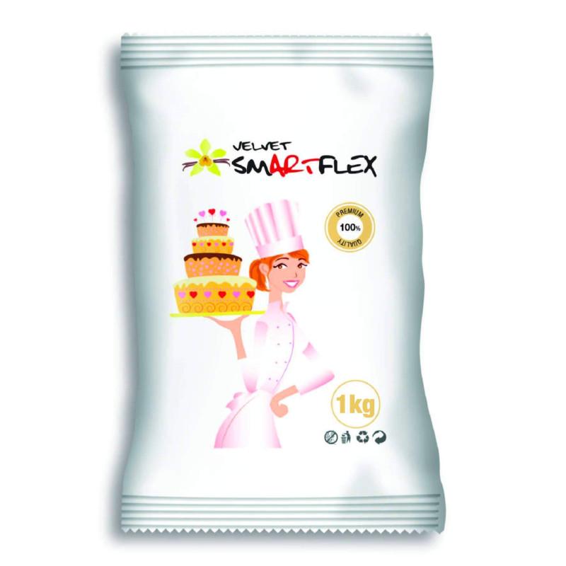 Pâte à Sucre SMARTFLEX Vanille BLANC 1 KG