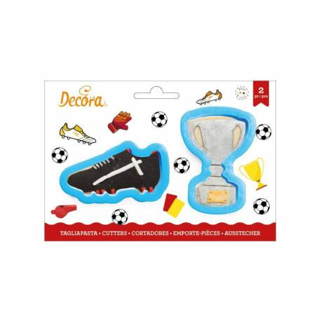 Set of 2 Crampons and Football Cup Cutters